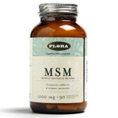 MSM Tilskudsfodder til hunde (90 kapsler)