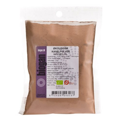 Biogan Kanelpulver 100% Ceylon Ø (100 g)