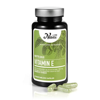 Nani Food State E-vitamin (60 kap)