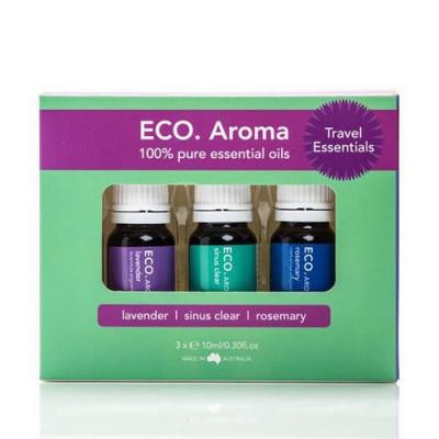 ECO. Aroma Trio Travel Essentials (3x10 ml)