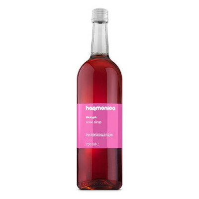 Unik Food, Rose sirup Ø (750 ml)