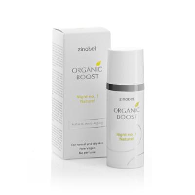 Organic Boost Night No. 1 Naturel Natcreme (50 ml)