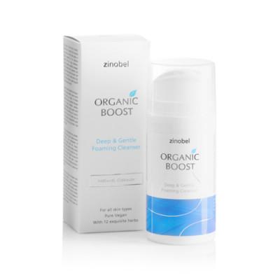 Cleanser Deep & Gentle Organic Boost (100 ml)