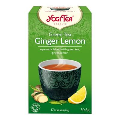 Yogi Green Tea Ginger Lemon Ø (17 br)