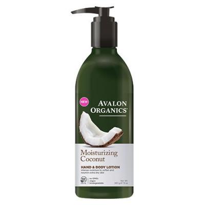 Avalon Organics Hand & Body Lotion Coconut Moisturizing (340 g)