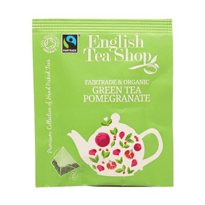 English Tea Shop Green Tea Pomegranate Ø (50 br)