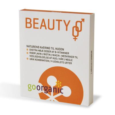 goorganic Beauty m/k (30 tabletter)