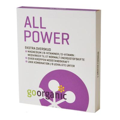 goorganic All Power (30 tabletter)