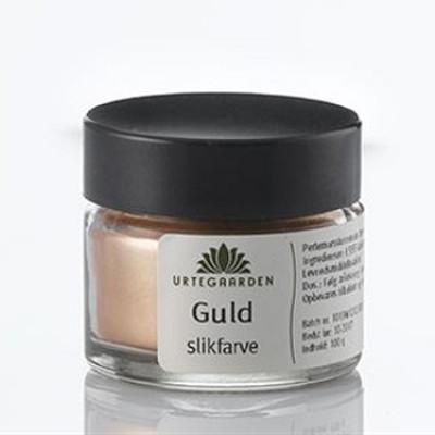 Urtegaarden Guld Slikfarve i Krukke (5 gr)
