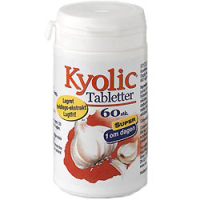 Kyolic hvidløg - 1 om dagen (60 tabl.)