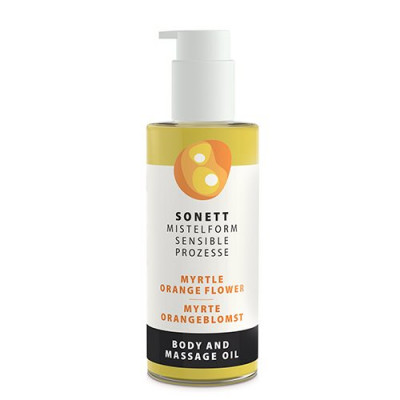 Sonett Krops & Massageolie Myrte/ Orangeblomst (145 ml)