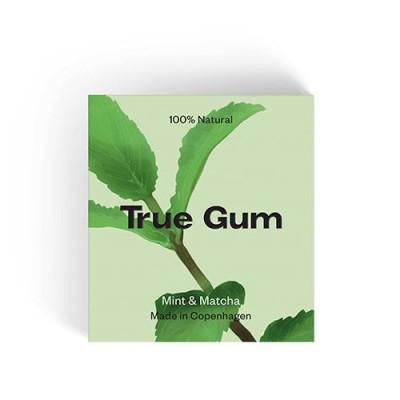 True Gum Tyggegummi Mint & Matcha (20 g)