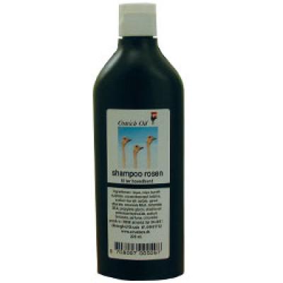 Ostrich Oil Shampoo Tør Hovedbund Rosen (220 ml)