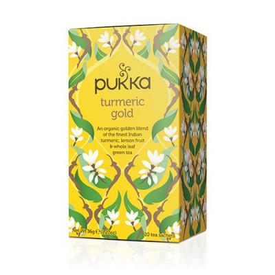 Pukka Turmeric Gold Te Ø (20 breve)
