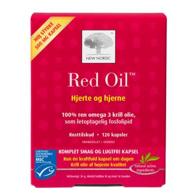 New Nordic Red Oil Omega-3 Krill Olie (60 kapsler)