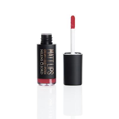 Nilens Jord Matt Lips - Creamy Liquid Lipstick - Love (7,5 ml)