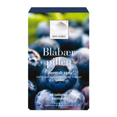 New Nordic Blåbær pillen (30 tabletter)