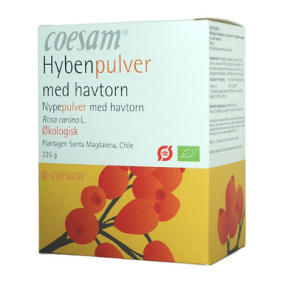 Coesam Hybenpulver med Havtorn (225 gr)