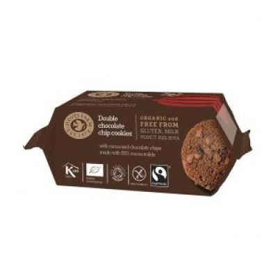 Doves Double Chocolate Cookies Økologiske - 180 gram