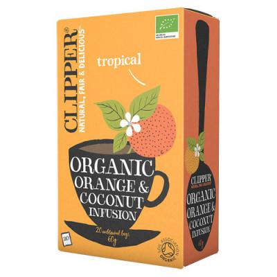 Clipper Te Orange and Coconut Ø (20 breve)