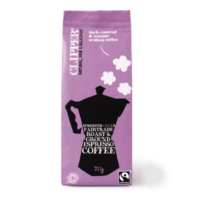 Clipper Kaffe Espresso - malet Ø (227 g)