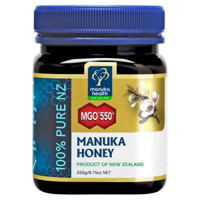 "Manuka Honning MGOâ""¢ 550+ (250 gr)"