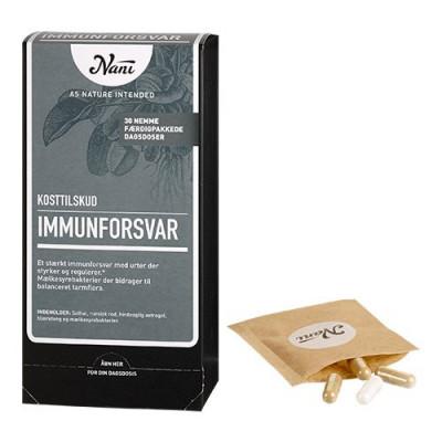 Nani Food State Immunforsvar helsepakke (30 breve)