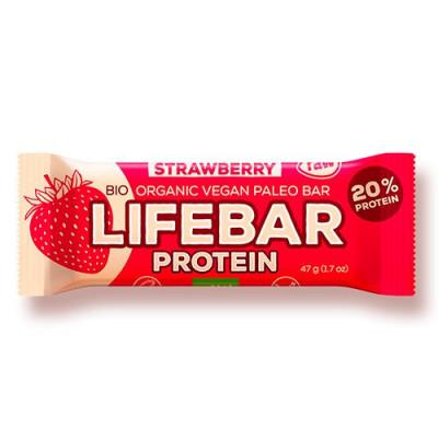 LifeBar Strawberry Proteinbar