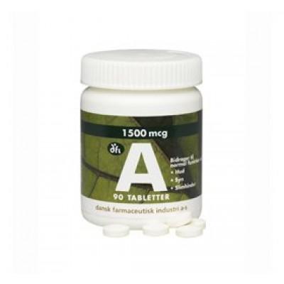 Dfi A-Vitamin (90 Tabeletter)