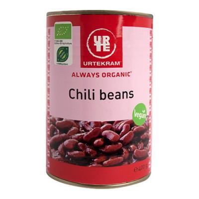 Urtekram Chili beans dåse Ø (400 g)