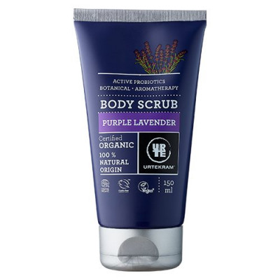 Body Scrub Purple Lavender Urtekram (150 ml)
