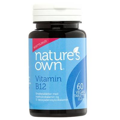 Vitamin B12 Vegan smeltetablet