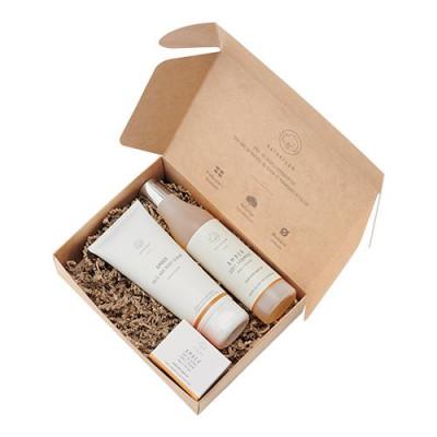 Naturfarm Gaveæske Amber Face Cream + Face/Body Scrub + Shampoo (1 stk)