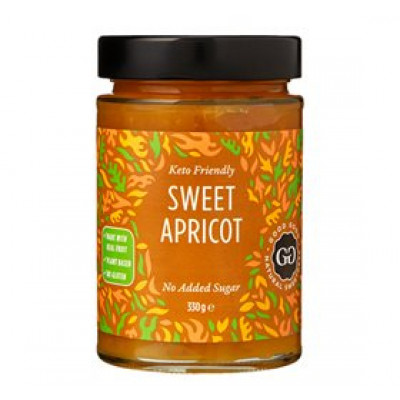 Abrikosmarmelade med stevia (330 g)