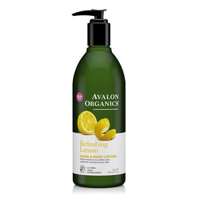 Avalon Organics Hand & Bodylotion Lemon Refreshing (340 g)