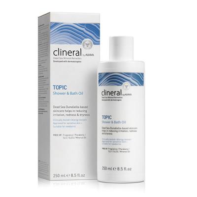 AHAVA CLINERAL TOPIC Shower & Bath Oil (250 ml)