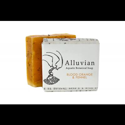 Alluvian Blood Orange & Fennel Aquatic Botanical Bar Soap (99 g)