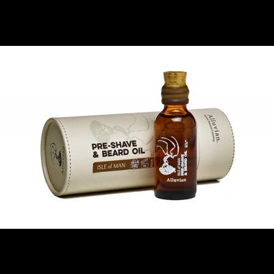Alluvian Isle of Man PreShave & Beard Oil (30 ml)
