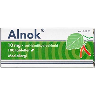 Alnok Tabletter 10 mg (100 stk)