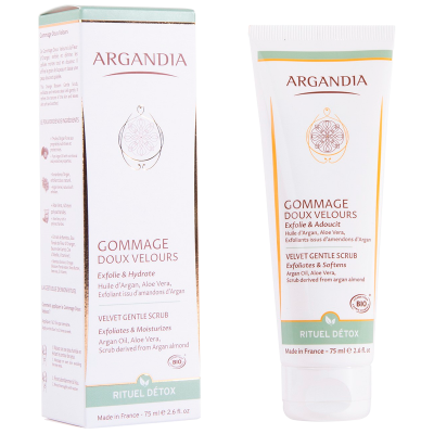 Argandia Velvet Gentle Scrub, Orange Blossom (75 ml)