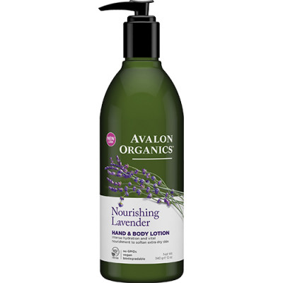 Avalon Organics Hand & Bodylotion Lavender Nourishing (340 g)