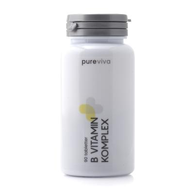 Pureviva B Vitamin Komplex (90 tab)
