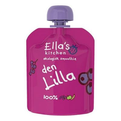 Ellas Kitchen Babymos Solbær/Blåbær/Æble/Banan Ø 4 Mdr (90 gr)