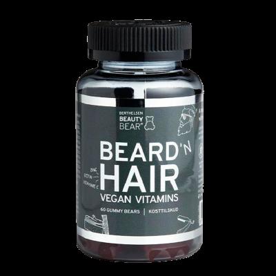 Beauty Bear Beard N HAIR (60 gummies)
