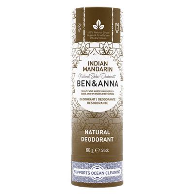 Ben & Anna natural deodorant Indian Mandarine Papertube (60 g)