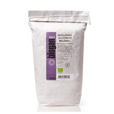 Biogan Majsmel Glutenfri Ø (1 kg)