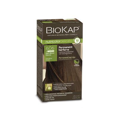 BioKap 6.06 Nutricolor Mørk Blond Havana Delicato Rapid (140g)