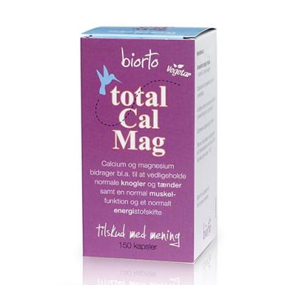 BiOrto Total Cal/Mag (150 kapsler)