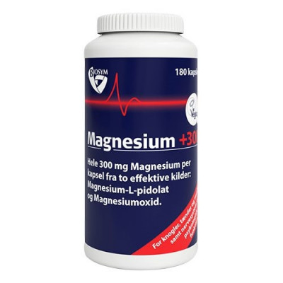 Biosym Magnesium +300 (180 kapsler)
