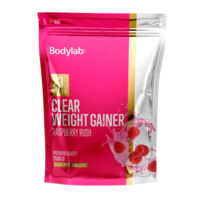 Bodylab Clear Weight Gainer Raspberry Rush (1500 g)